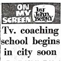 TV Coaching School Begins in City Soon
